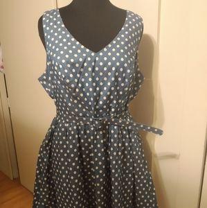 ModCloth Polka Dot Dress